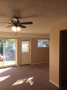 Spacious and bright 2-bedroom walkout ($1050 includes utilities)