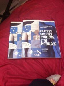 Livre/manuel Exercices illustrés d'anatomie et de physiologie!