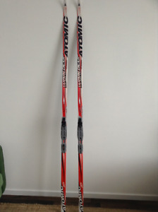 Atomic World Cup Classic Skis and One Way Premio Carbon Poles