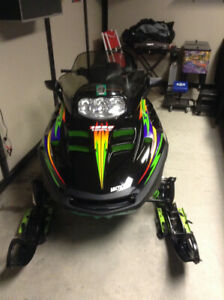 Two Awesome Artic Cat Sleds. Well Maintained & Detailed Weekly