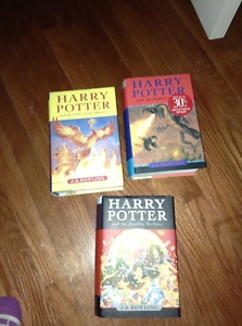 Hard Cover Harry Potter books for sale
