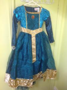 Merida princess costume
