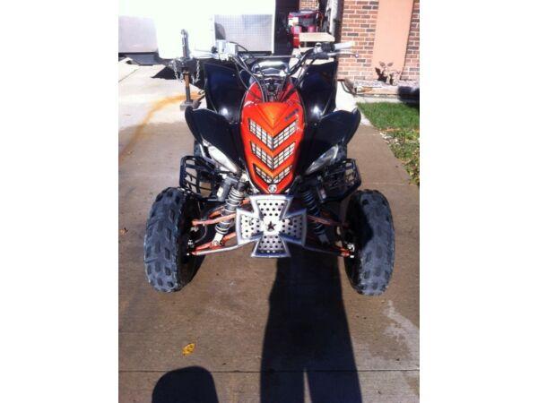Used 2007 Yamaha raptor 700