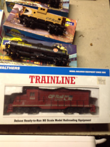 model train items