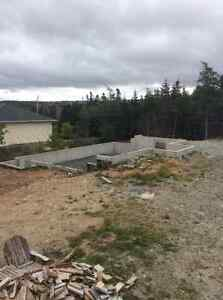 Oversize lot with foundations for house and garage St. John's Newfoundland image 7