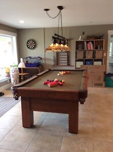 Slate top pool table for sale