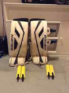 30+1 Bauer Supreme One 9 Int goalie pads