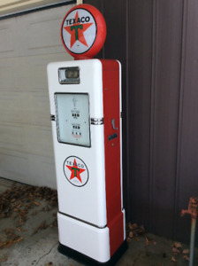 Restored Bowser Gas Pump with Eco Air Meter