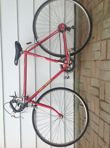 Older Road bike / Commuter with new parts