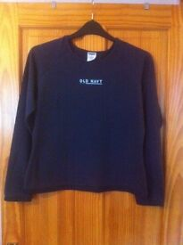 OLD NAVY LADIES LONG SLEEVED TOP - SIZE L