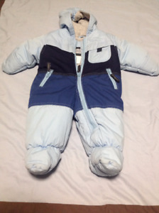 Bunting Suit for Infant (Light Blue)