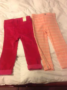 Girls 4T Pants For Sale New With Tags