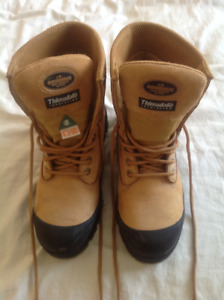 Mens construction work boots