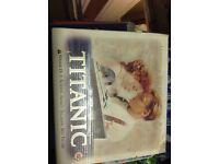Titanic VHS box set with collectors cards and film cell