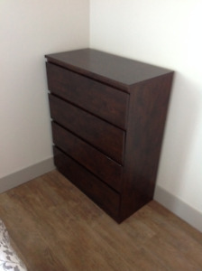1 Tall Dresser and 2 Bed Side Tables