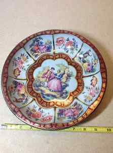 Vintage 1971 Daher Decorated Ware Tin Tray Cambridge Kitchener Area image 1