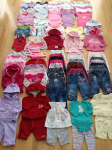 Girl's Size 3-6 Months Clothes