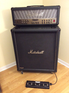 Guitar Amp : Marshall MF350 Mode Four Head + MF400B Cabinet