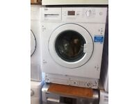 NEW BEKO 6.5kg-8kg A+ white integrated graded New warranty included -sale on fridge freezer,cookers,