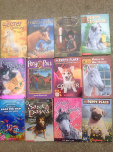 Variety of 12 Animal Chapter Books