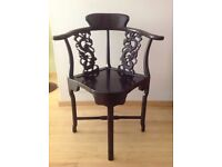 Chinese Rosewood Chairs x6