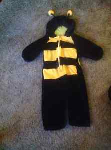 Bumble bee costume size 12-24 months