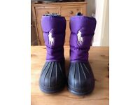 Ralph Lauren waterproof boots
