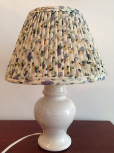 Antique Small Table Lamp