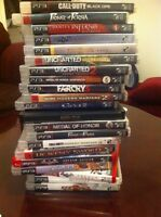 500Gb PS3 + 26 games all in best condition