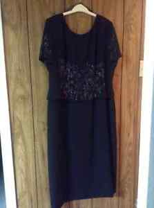 "Women black ""Cartise International"" dress size18"