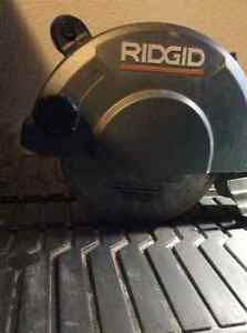 "Ridgid 7"" wet tile saw"