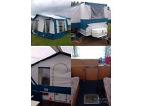 Pennine Fiesta Folding Camper/Trailer Tent