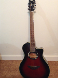 Yamaha Apx iii Guitar for Sale .  Case included