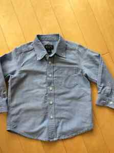 Children's place boys dress shirt size 4