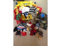Build a bear bundle. Wardrobe + clothes