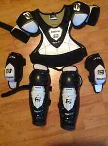 Reebok Chest/Shoulder, Elbow and Shin pads
