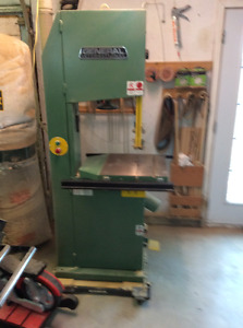 "18""wood cutting bandsaw"