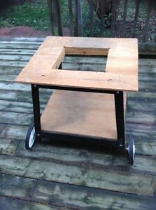 Table Saw Table with Wheels