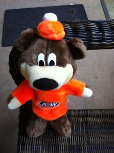 "A&W Root Beer Plush Bear Hand Puppet 13"" Tall"
