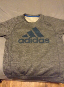 Addidas bonded fleece crew sweater...awesome condition!