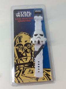 Rare 1997 Star Wars Storm Trooper LCD Watch