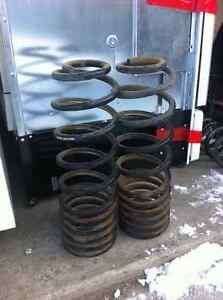 """Mcgaughy's 2"""" Rear drop coil springs for any 09+ dodge ram 1500"""