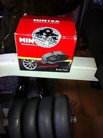 Ford mondeo rear pads mintex
