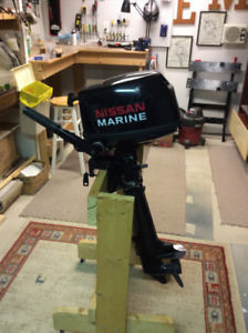 Nissan outboard 5 hp long shaft