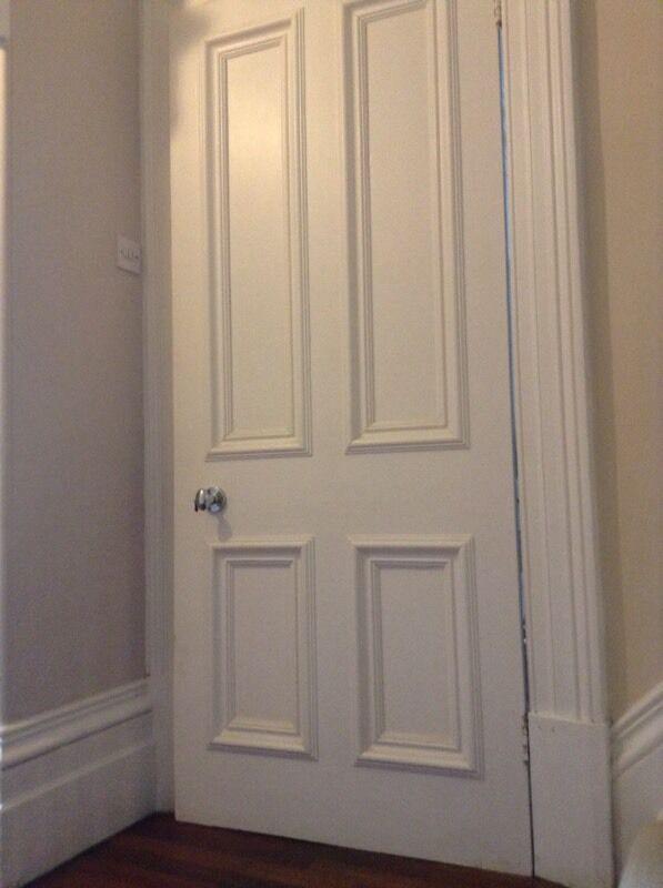 Original Victorian Period 4 Panel Timber Internal Door