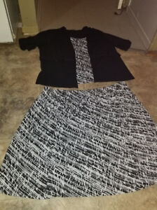 Professional skirt and shirt size 3x brand new 20$