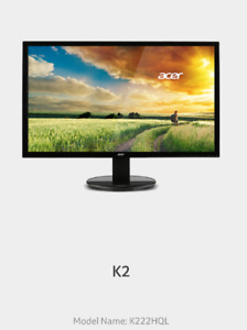 Acer K2 Series Monitor 22 inches