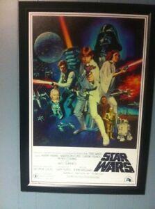 Star Wars  frame poster   Reduced