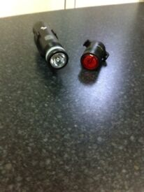 Front and back bike lights
