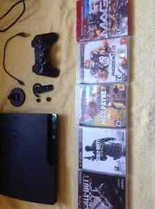 PlayStation 3 with Headset and Games - Like New London Ontario image 6